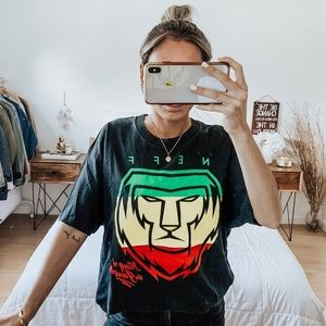 Neff King Of The Jungle Black T-Shirt